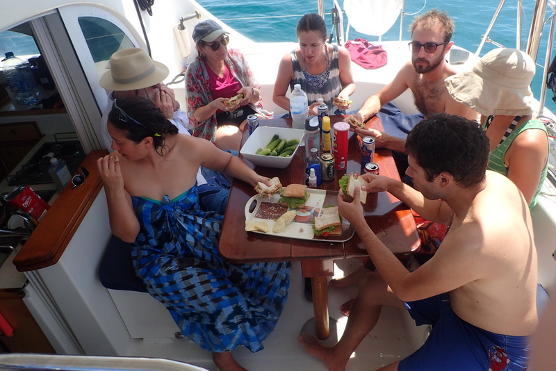 You may find a boat to crew over lunch!