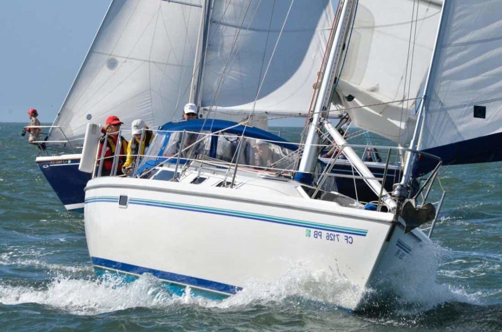 Volunteer yacht crew make it happen!