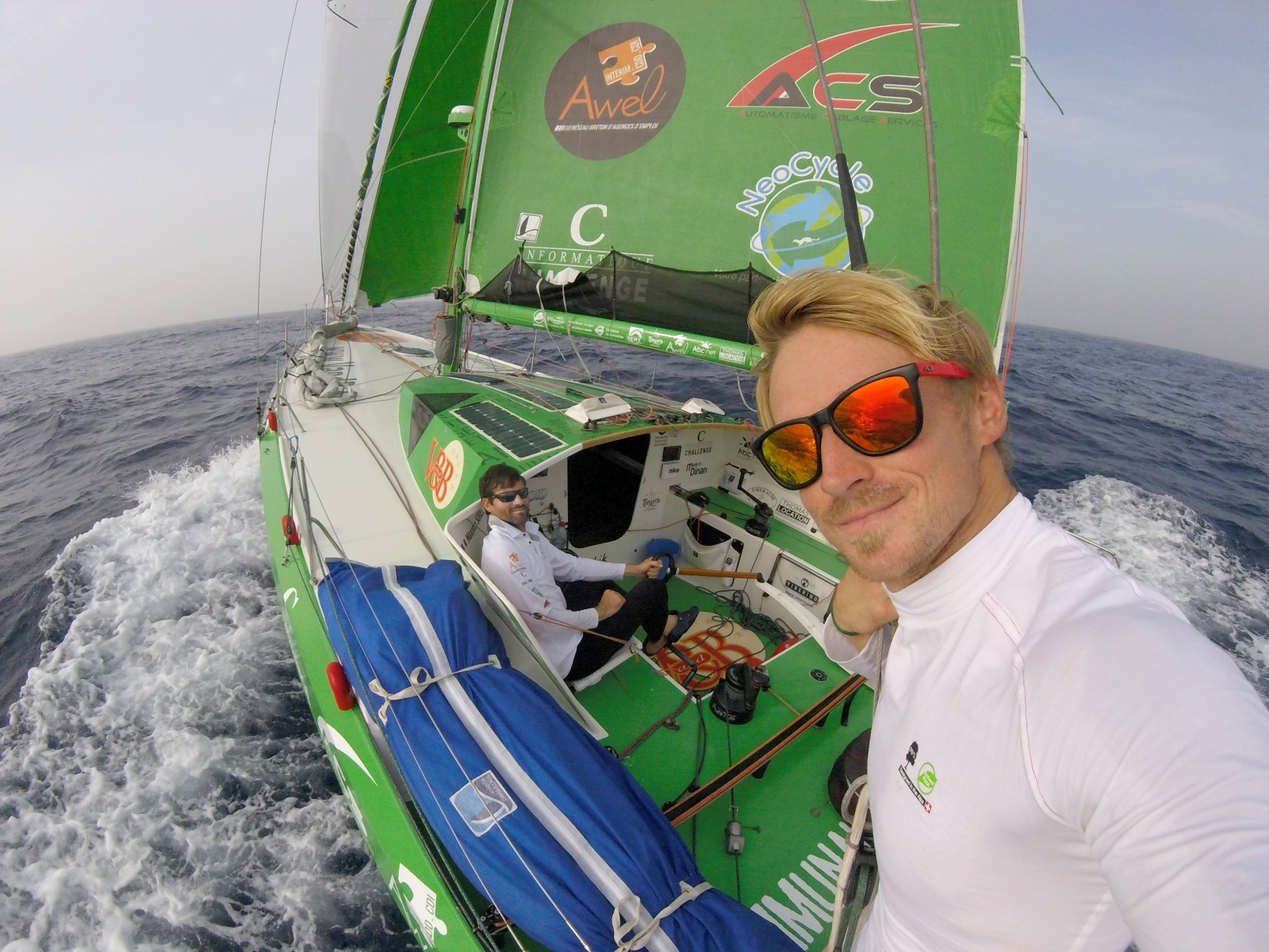 Looking for crew in a double-handed yacht race?