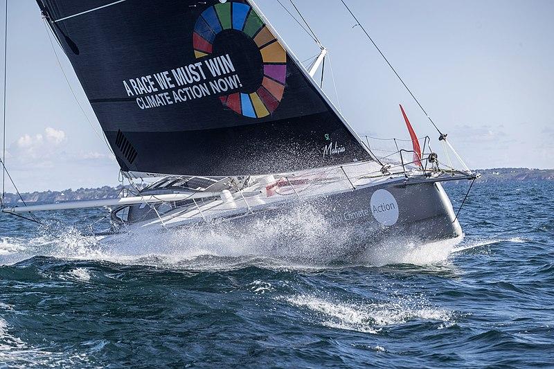 Greta Thunberg yacht crewing to save the planet