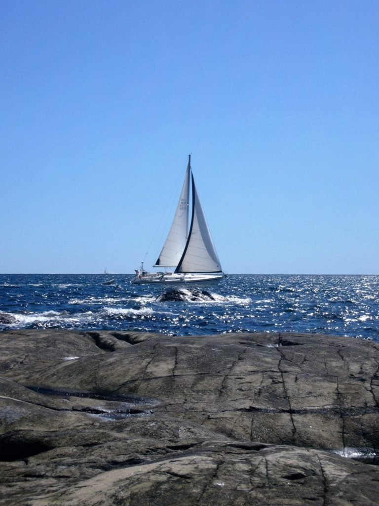 Yacht delivery skippers - crewing so you miss rocks like this!