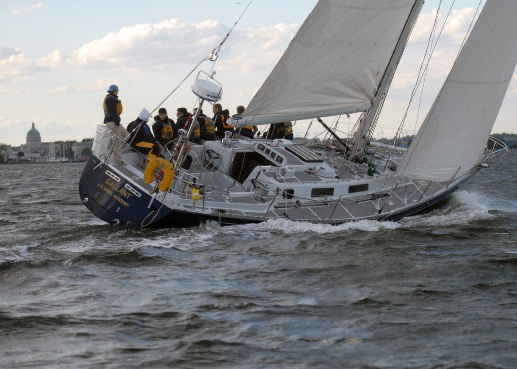 Learn to sail as crew on a yacht