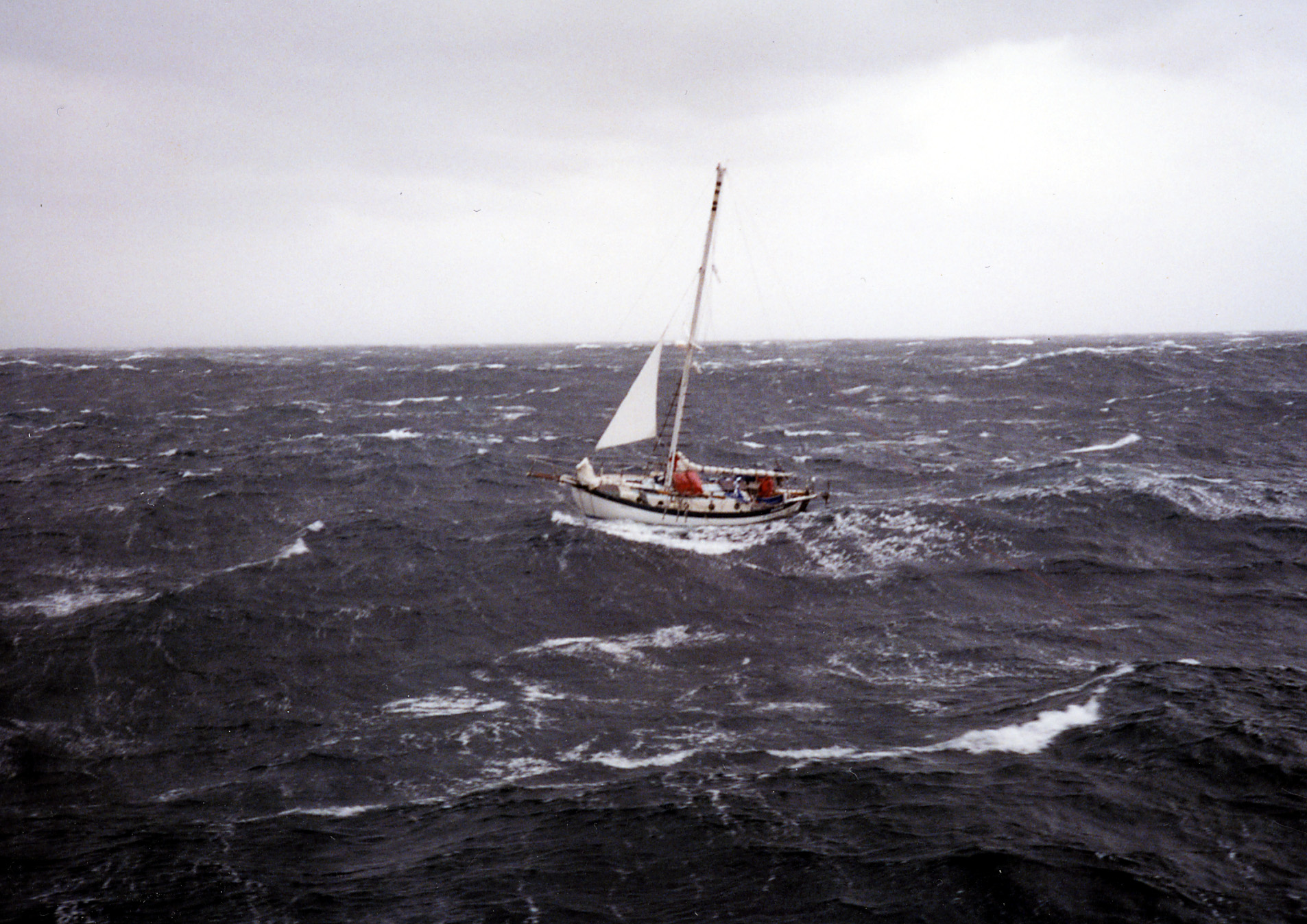 Crewing in big winds
